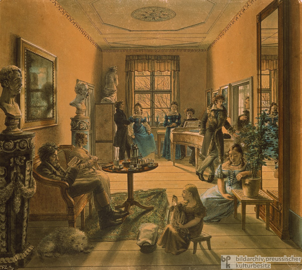 In a Berlin Living Room c. 1815 (1816)