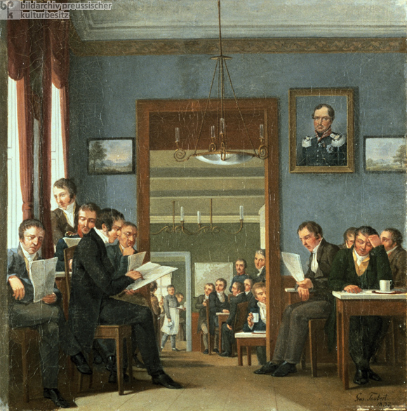 """Everyone Reads Everything"" – A Reading Café in Berlin (1832)"