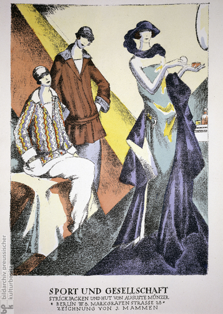 <i>Berlin Fashion</i>, after a drawing by Jeanne Mammen (1923)