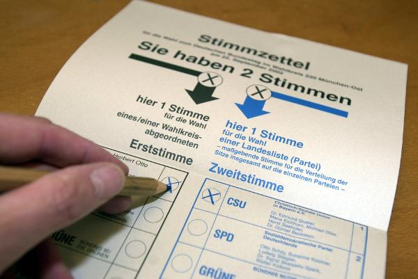 Ballot for the 2002 Bundestag Election (2002)
