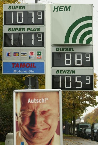 Gasoline Price Hike (October 12, 2002)