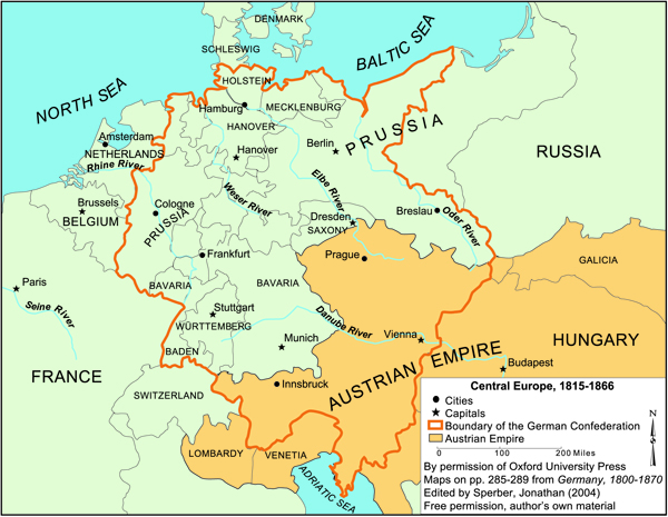 Central Europe (1815 1866)