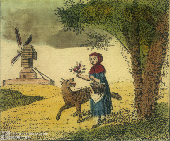 """Little Red Riding Hood"" (1825)"