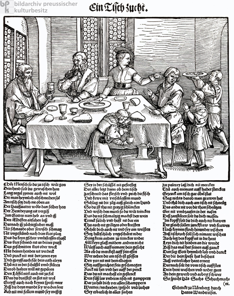 Table Manners (c. 1540)