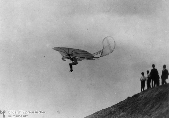 Otto lilienthal first gliders