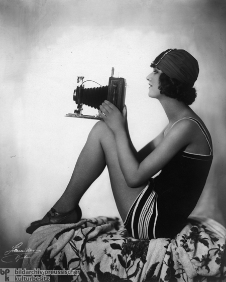 Striped Bathing Suit (1925)