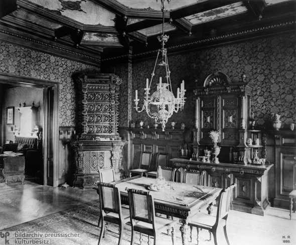 Middle Class Victorian Dining Room