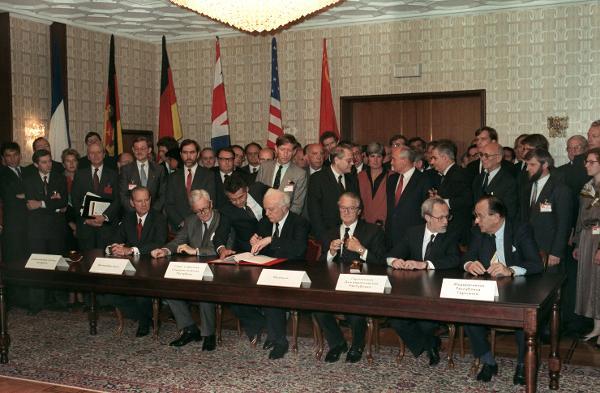 Germany Regains Full Sovereignty (September 12, 1990)