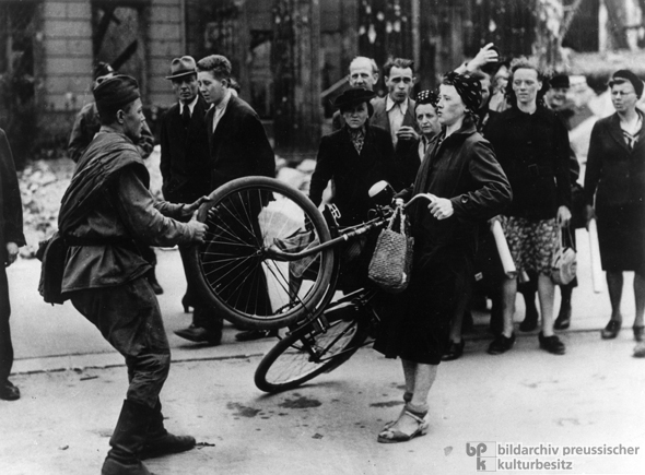 Coveted Possession: A Woman Defends her Bicycle (1945)