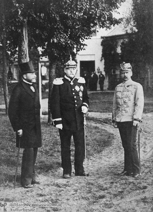 Foreign Ministers of Russia, Germany, and Austria-Hungary (September 15-17, 1884)