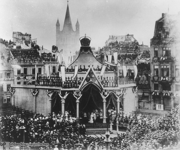 Rededication of the Cologne Cathedral (October 15, 1880)