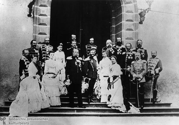 European Royalty Meets In Homburg (1883)