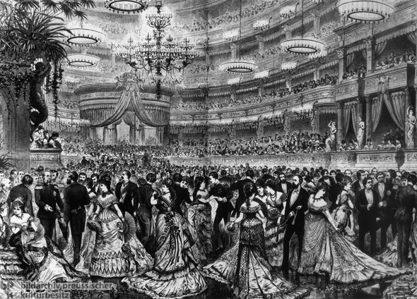 Ball in the Berlin Opera House (c. 1875)