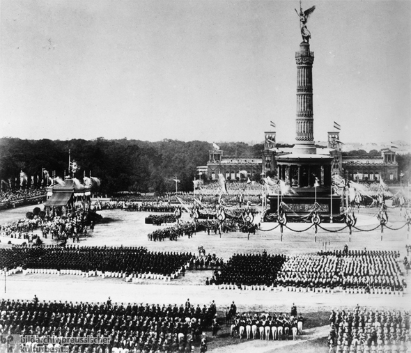 Dedication Ceremonies for the Berlin Victory Column (September 2, 1873)