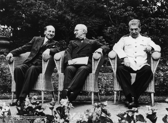 Potsdam Conference (July 17-August 2, 1945)