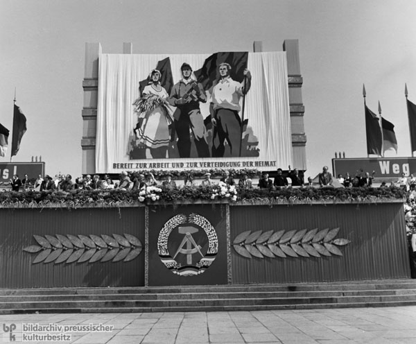 May Day Rally on Marx-Engels Square in East Berlin (May 1, 1955)