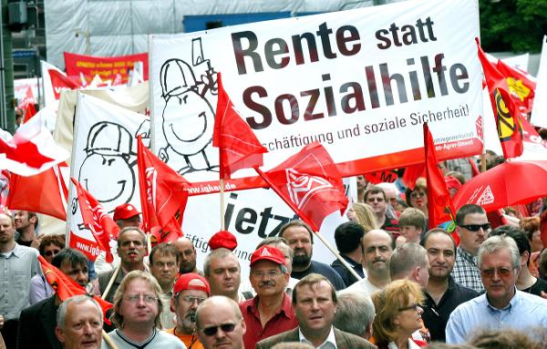 Unions Mobilize against Agenda 2010 (May 24, 2003)