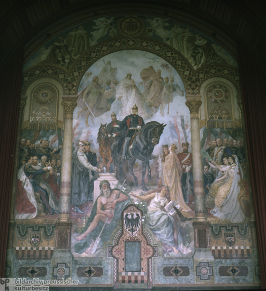 Allegorical Mural to Peace and Kaiserdom (1870s)