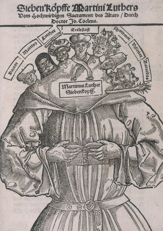 Seven-Headed Luther (1529)