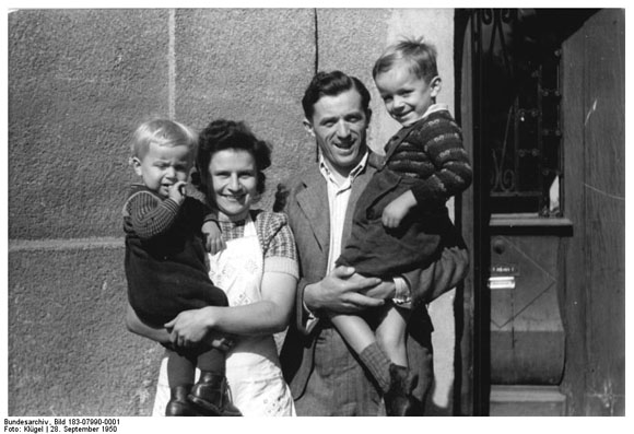 "A Model ""New Farmer"" and his Family (September 1950)"
