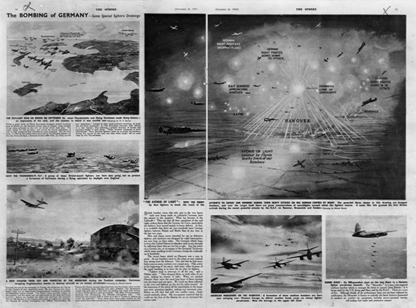 Report on British Air Raids on German Cities (October 16, 1943)