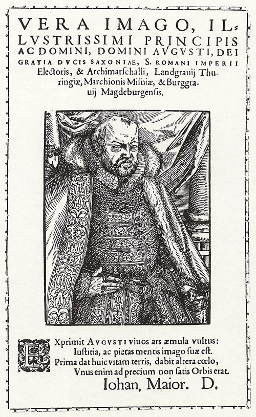 Duke August I, Elector of Saxony (2nd Half of the 16th Century)