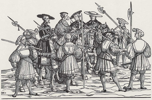 Emperor Charles V at Augsburg in 1530 (1530)