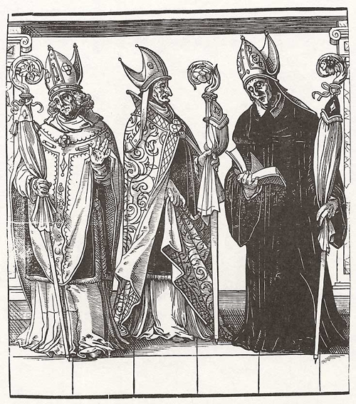 Church Hierarchy: Bishops (2nd Half of the 16th Century)