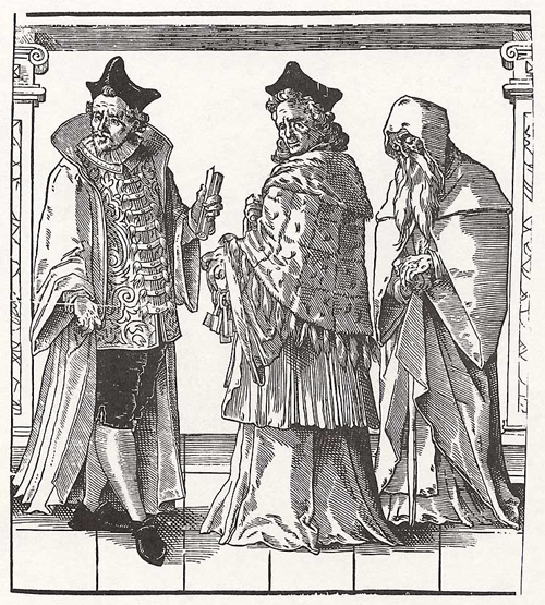 Church Hierarchy: Abbots and Hermit (2nd Half of the 16th Century)