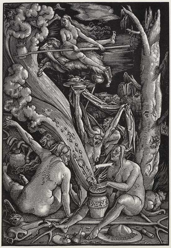 Hans Baldung Grien, <i>Witches' Coven</i> (1510)