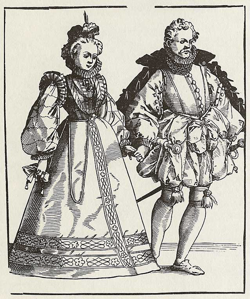 Nobles Dancing at a Ball (2nd Half of 16th Century)