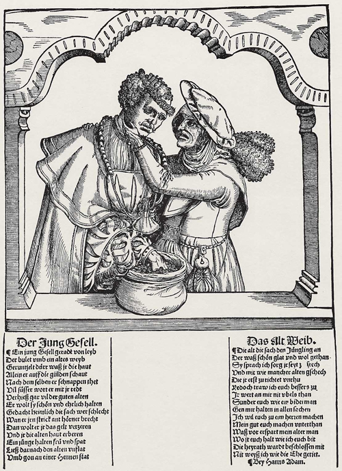 Old Woman with a Young Man (1st Half of the 16th Century)