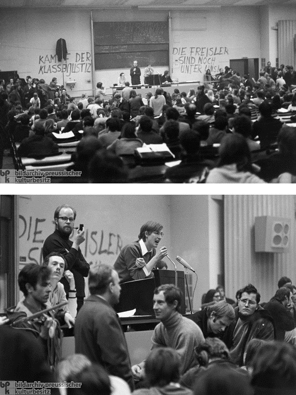Student Strikes in Frankfurt am Main (1968)