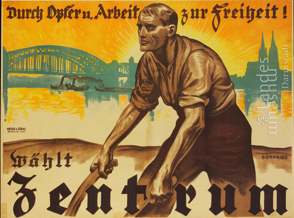 Center Party [<I>Zentrum</i>] Election Poster (1924)