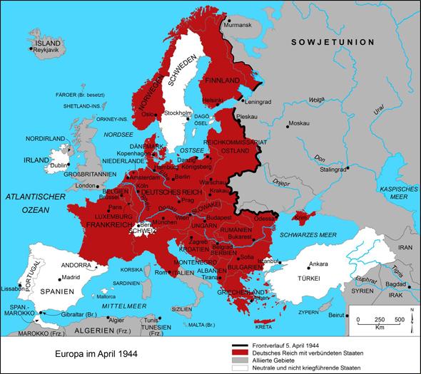 Deutsches Reich 1941