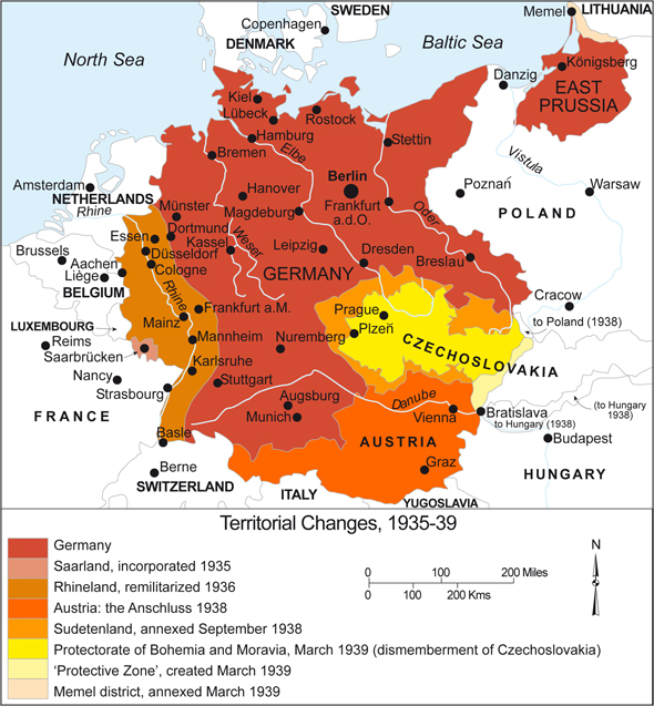 Germany Map Before Wwii.Ghdi Map