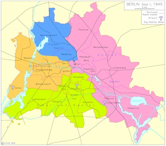 GHDI Map - Berlin on world map