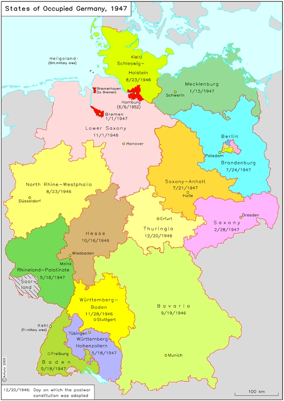 Map Of States Of Germany.Ghdi Map