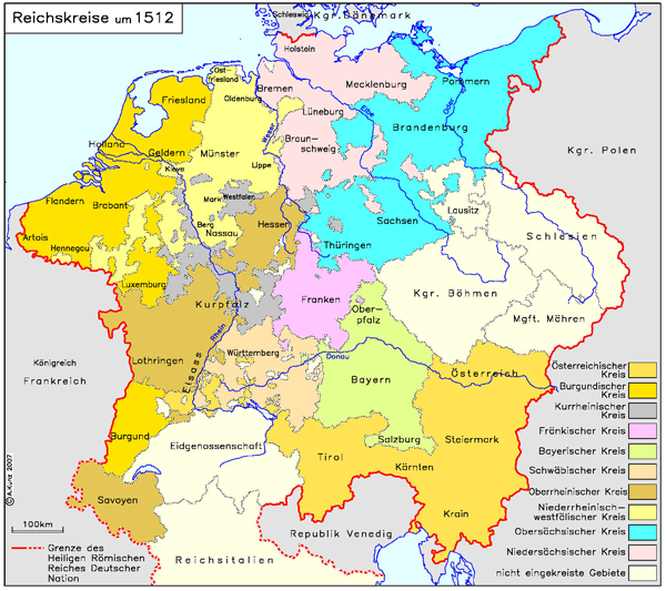 Römisches Reich Karte.Ghdi Map