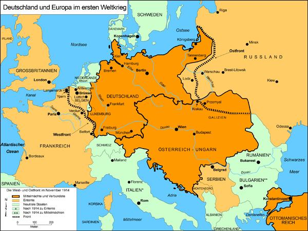 Deutsche Karte Vor Dem 1 Weltkrieg.Ghdi Map