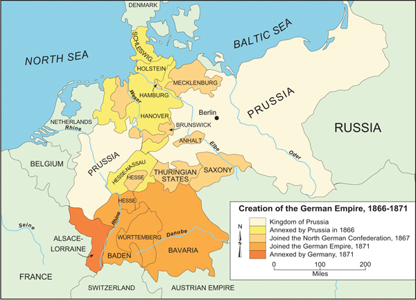 Creation of the German Empire (1866-1871)