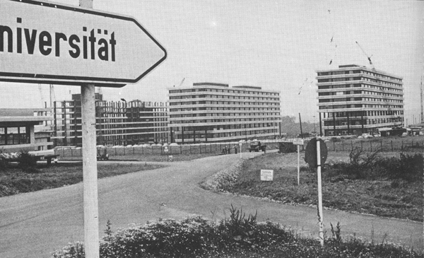 The Completion of the First Phase of Construction and the Opening of Ruhr University in Bochum (June 30, 1965)