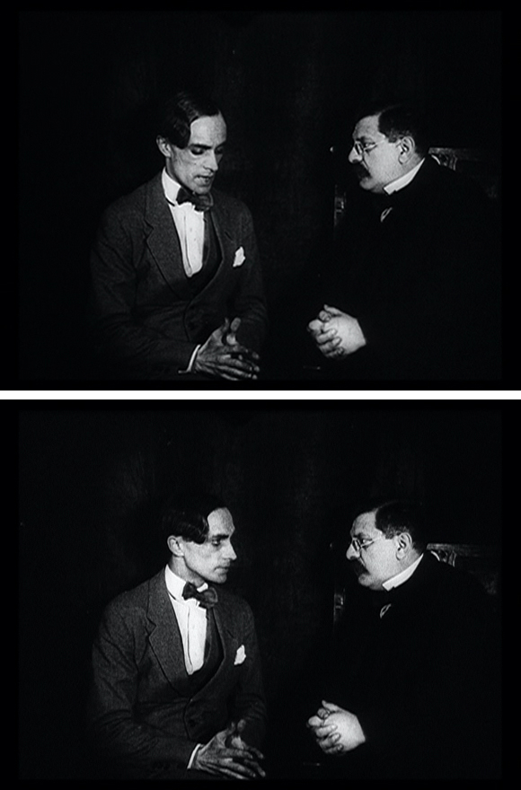 Conrad Veidt and Magnus Hirschfeld in <i>Different from the Others</i> by Richard Oswald (1919)