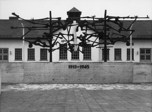 Memorial Site at the Dachau Concentration Camp (1968)