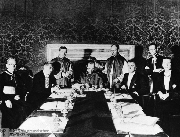 Reich Concordat between the Holy See and the German Reich (July 20, 1933)