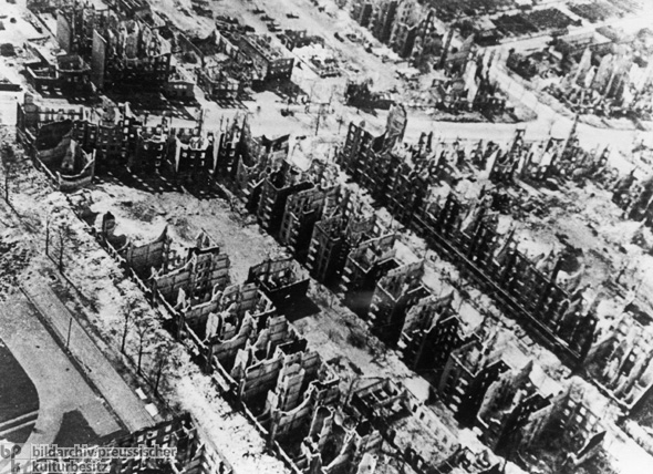 Aerial Images of Central Hamburg after