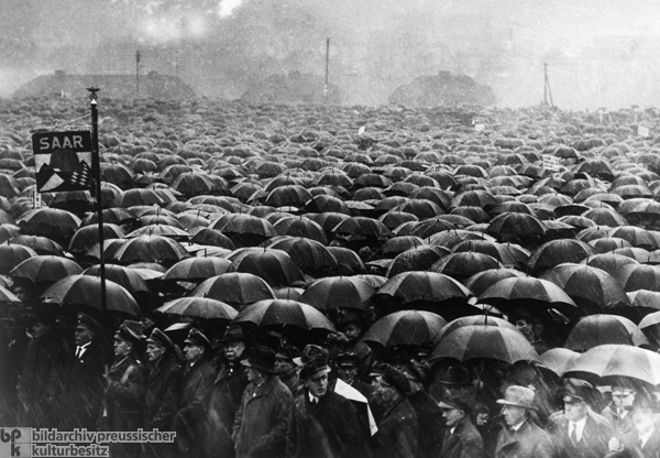 Mass Rally Organized by the Nazis in the Lead Up to the Referendum on the Future of the Saarland (Fall 1934)