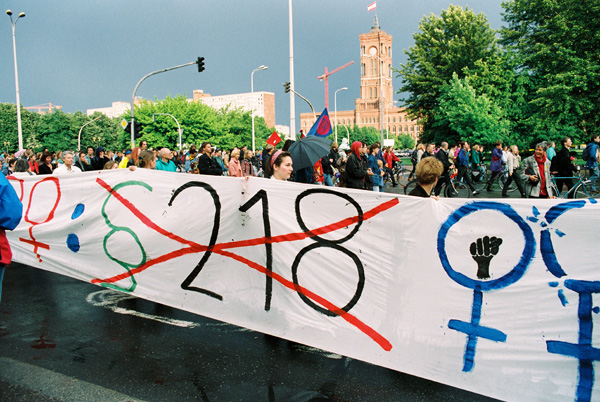 Demonstration against the Ruling on Paragraph 218 (May 28, 1993)