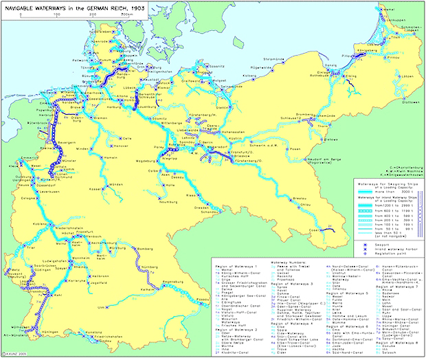 Rivers Of Germany Map.Ghdi Map