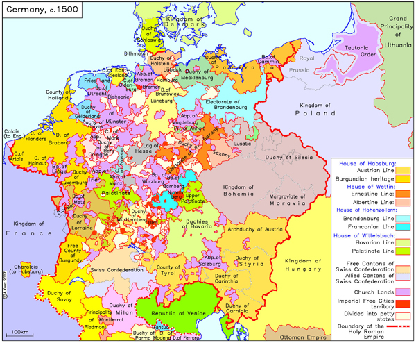 germany c 1500